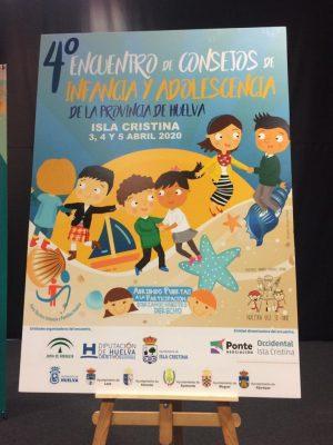 Cartel IV Encuentro de Consejos de Infancia y Adolescencia
